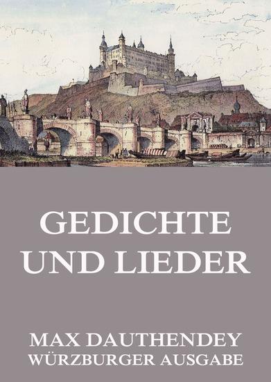Gedichte und Lieder - Erweiterte Ausgabe - cover