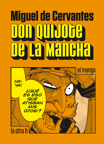 Don Quijote de la Mancha - el manga - cover