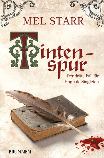 Tintenspur - Der dritte Fall für Hugh de Singleton - cover