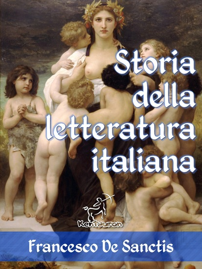 Storia della letteratura italiana (Edizione con note e nomi aggiornati) - cover