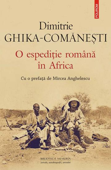 O espediţie română în Africa - cover