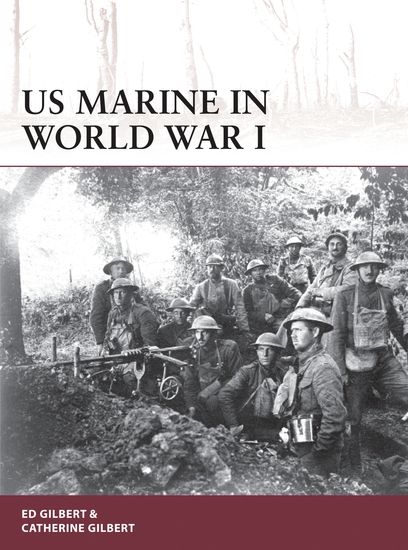 US Marine in World War I - cover