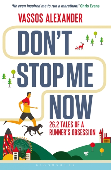 Don't Stop Me Now - 262 Tales of a Runner's Obsession - cover