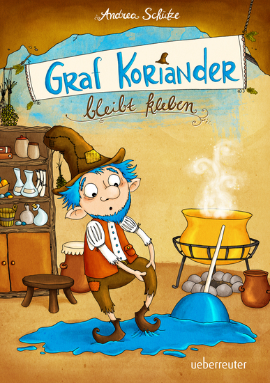 Graf Koriander bleibt kleben - Graf Koriander Band 1 - cover