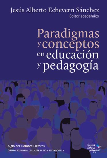 Paradigmas y conceptos en educacion y pedagogia - cover