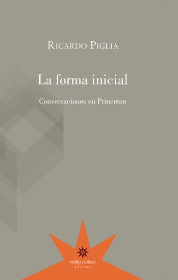 La forma inicial - Conversaciones en Princeton - cover