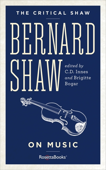 The Critical Shaw: On Music - cover