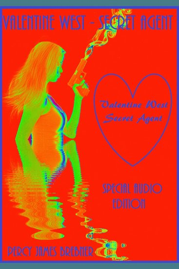 Valentine west - Secret Agent - cover