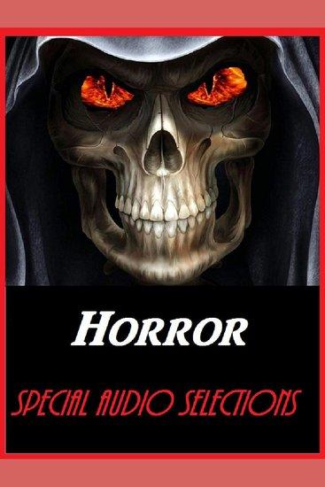 Horror: Bram Stoker - Dracula-Orson Wells - cover