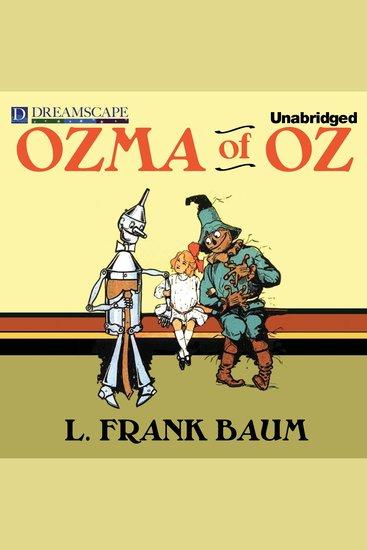 Ozma of Oz - cover