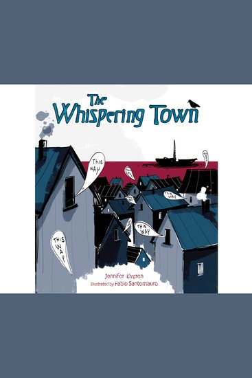 The Whispering Town - cover
