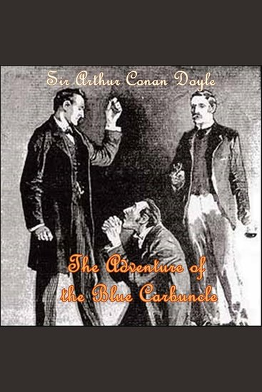 Sherlock Holmes: The Adventure of the Blue Carbuncle - cover