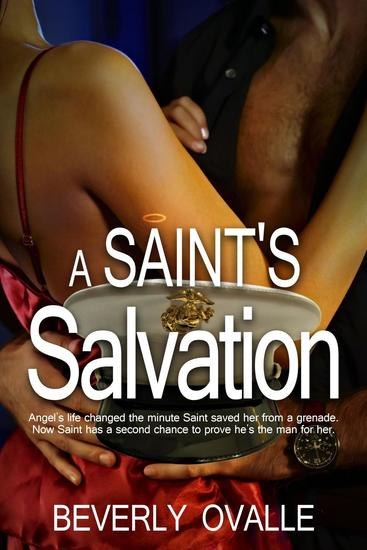 A Saint's Salvation - The Santiago's #1 - cover