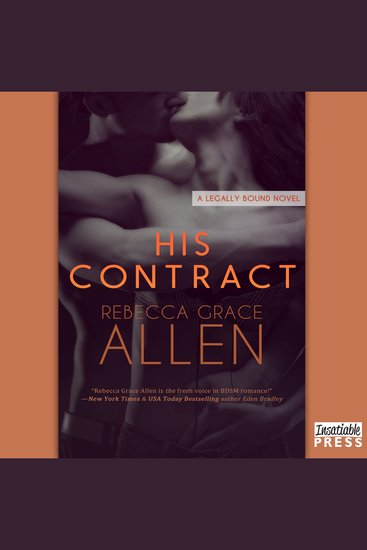 His Contract - Legally Bound Book 1 - cover