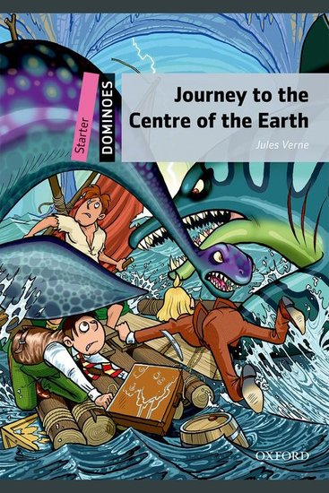 Journey to the Centre of the Earth - cover