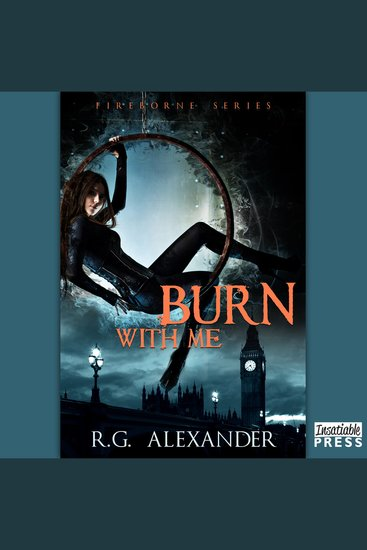 Burn with Me - Fireborne Book 1 - cover