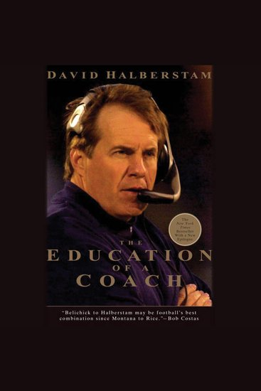 The Education of a Coach - cover