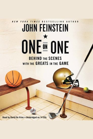One on One - Behind the Scenes with the Greats in the Game - cover
