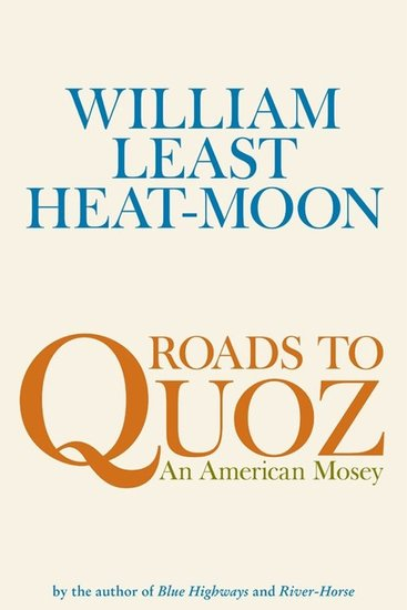 Roads to Quoz - An American Mosey - cover