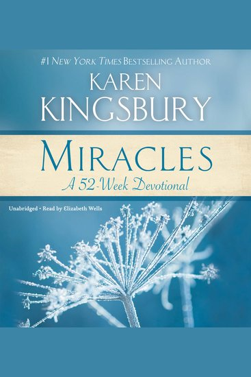 Miracles - A 52-Week Devotional - cover