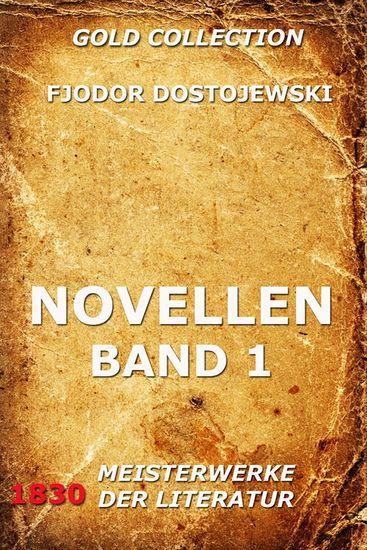 Novellen Band 1 - Erweiterte Ausgabe - cover