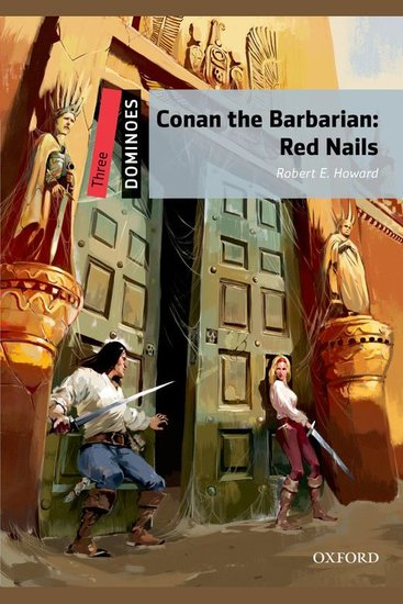 Conan the Barbarian: Red Nails - Dominoes: Level Three - cover