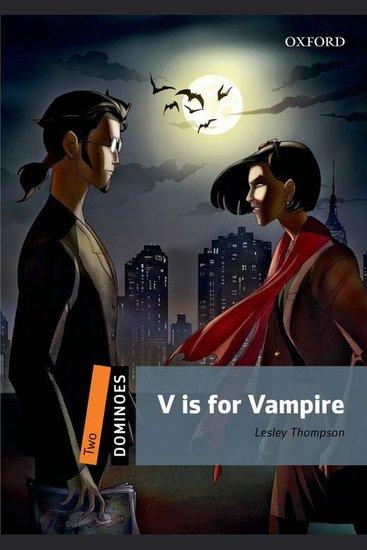 V is for Vampire - cover