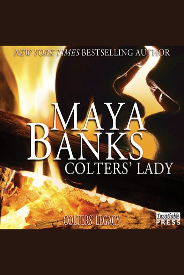 Colters' Lady - Colters' Legacy Book 2 - cover