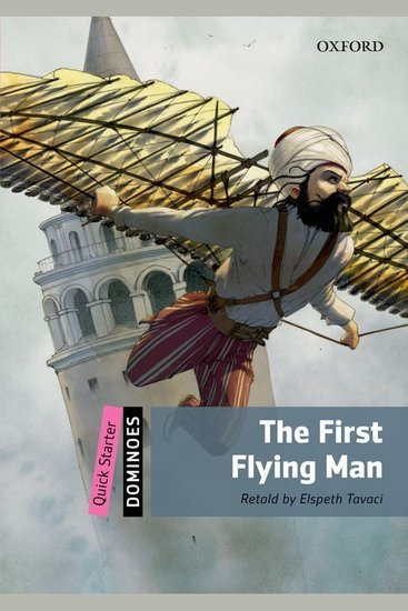 The First Flying Man - cover