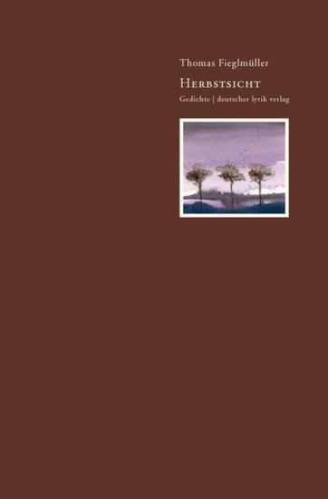 Herbstsicht - Gedichte - cover