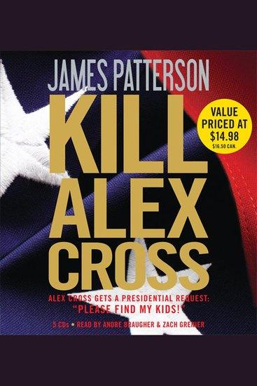 Kill Alex Cross - cover
