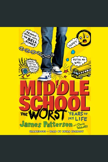 Middle School The Worst Years of My Life - cover
