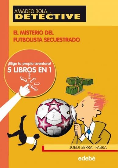 El misterio del futbolista secuestrado - cover