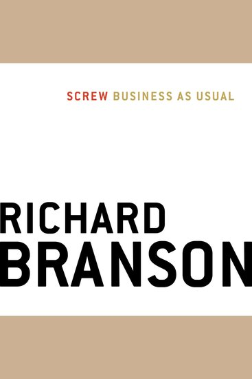 Screw Business As Usual - cover