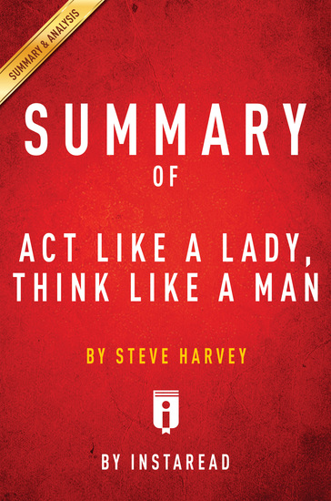 Summary of Act Like a Lady Think Like a Man - by Steve Harvey | Includes Analysis - cover