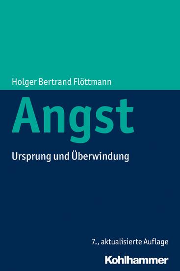 Angst - Ursprung und Überwindung - cover