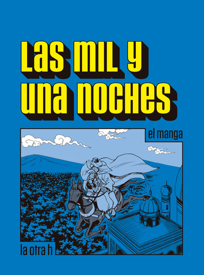 Las mil y una noches - el manga - cover