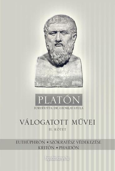 Platón válogatott művei II kötet - cover