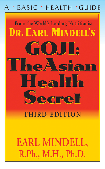Goji - The Asian Health Secret Third Edition - cover