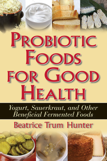 Probiotic Foods for Good Health - cover