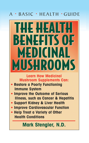 The Health Benefits of Medicinal Mushrooms - cover