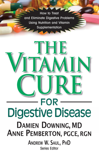 The Vitamin Cure for Digestive Disease - cover