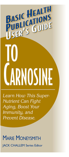 User's Guide to Carnosine - cover