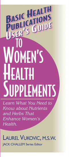 User's Guide to Women's Health Supplements - cover