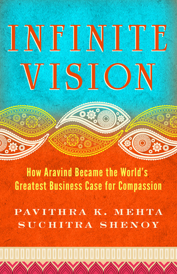 Infinite Vision - How Aravind Became the World's Greatest Business Case for Compassion - cover