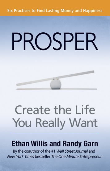 Prosper - Create the Life You Really Want - cover