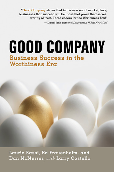 Good Company - Business Success in the Worthiness Era - cover
