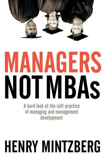 Managers Not MBAs - cover