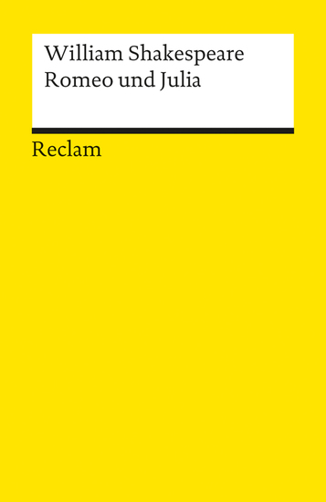 Romeo und Julia - Reclams Universal-Bibliothek - cover