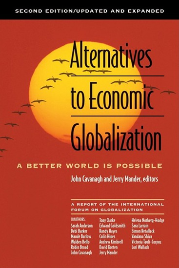 Alternatives to Economic Globalization - A Better World Is Possible - cover
